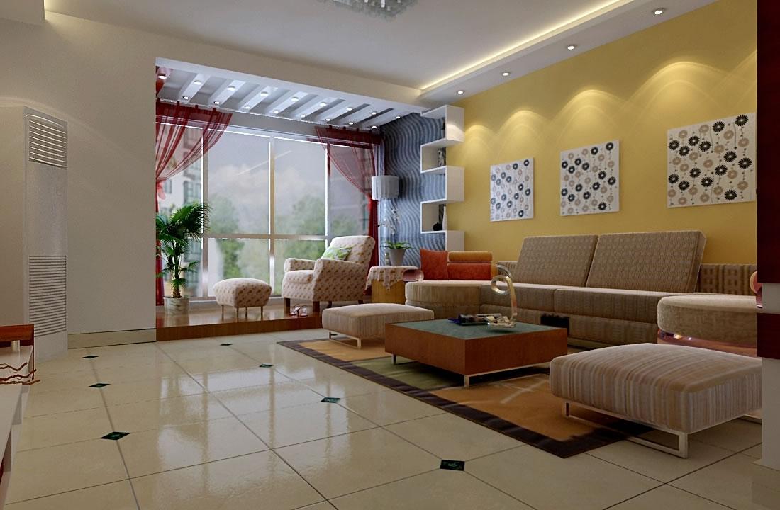 济南锦绣泉城两室两厅装修效果图 2 高清图片