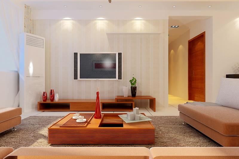 客厅影视墙装修效果图