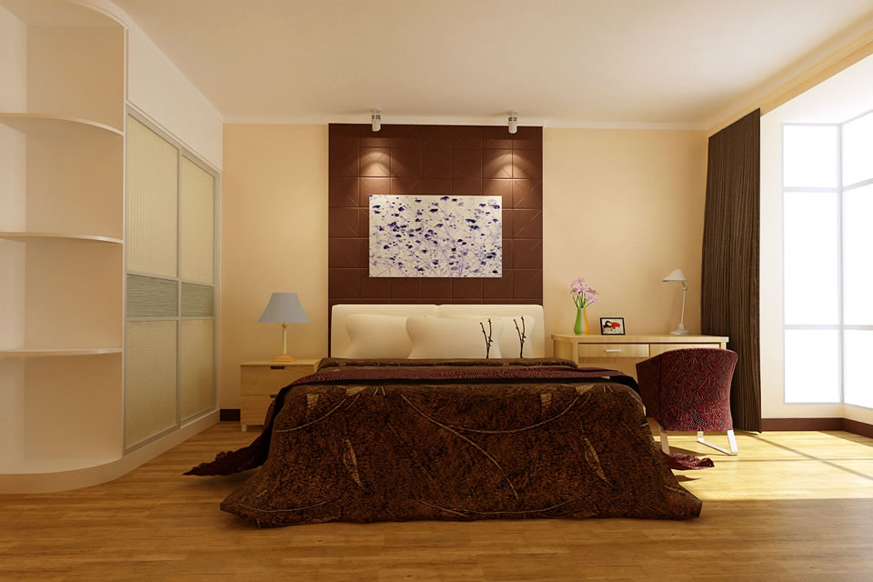 装修效果图大全2014图片   130平方三室两厅装修效果图-装饰